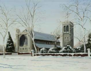 All Saints Church, Ealing Common, Kathleen May Davies (1915–2003)