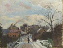 Fox Hill, Upper Norwood, Camille Pissarro (1830–1903), 1870