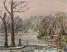 Regent's Park, Winter, Elliott Seabrooke (1886–1950), 1940