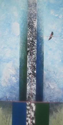 FLAFLU │ 2006 │ Acrylics on canvas │ 100 x 50 cm