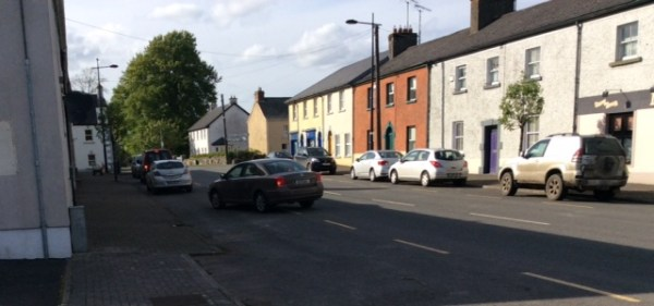 Rush hour in Ballynacargy