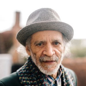 """Financial Times*, 2018: """"The award-winning Guyanese-born poet John Agard talks to William Wallis about race, globalisation and falling under the spell of the 'fairy of language.' Photo: Jack Latham."""