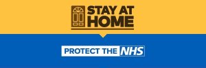 Stay at home. Protect the NHS.