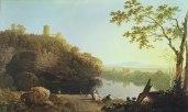 Atribytd t Ričd Wilsn │ VY ON Đ ĀNO, IṬLI │ c. 1766 │ Ŷl on canvs │ 78.1 x 122.1 sm │ Šefīld Myziymz