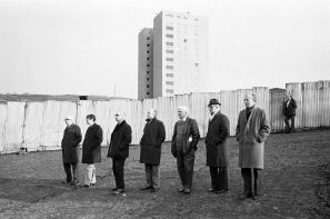 Halifax Town Football Ground, 1977, by Martin Parr