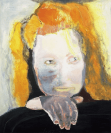 Evil is Banal 1984 Collection Van Abbemuseum, Eindhoven, The Netherlands © Marlene Dumas Photo credit: Peter Cox, Eindhoven, The Netherlands
