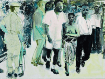 The Widow 2013 Private Collection © Marlene Dumas