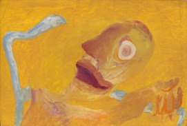 Amazement, Early 1970's. Acrylic on paper laid on board, 54.5 x 80 cm