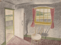 Interior at Furlongs, 1939. Photograph: Private collection