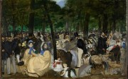 Édouard Manet, Music in the Tuileries Gardens (1862) Photo: The National Gallery