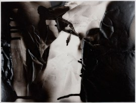 STEVEN PARRINO: Untitled, 1991. Sprayed enamel, pencil on vellum, 9 × 12 inches (22.9 × 30.5 cm)