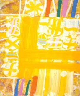 Florian, 1999, acrylic on canvas, 72 x 60 in / 183 x 152.4 cm