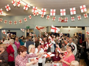 St George's Day at the Brook Street Community Centre, Bilston, 2010