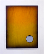 Michael Andrew Page, Amber Practice Permutation, 2015, mixed media, 122 x 90 cm (48 x 35 1/2 in.)