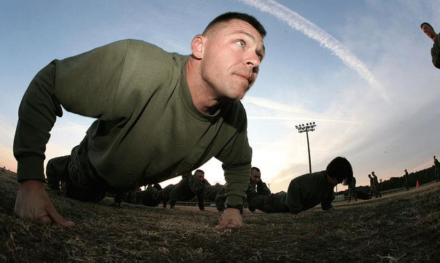 100 push ups in a row
