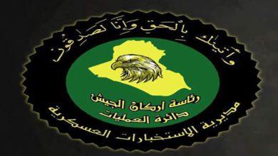 Photo of الاستخبارات العسكرية تلقي القبض على ثلاثة ارهابيين في سامراء وغرب نينوى بينهم من منسق ديوان الجند