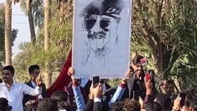 Photo of جامعة الأنبار توضح ملابسات رفع صورة للرئيس المخلوع داخل الحرم الجامعي