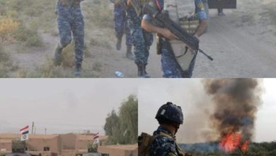 Photo of الشرطة الاتحاية تشرع  بتفتيش خمس قرى جنوب غرب كركوك