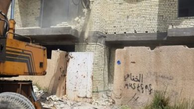 Photo of امانة بغداد: ازالة دور سكنية متجاوزة بين منطقتي البيجية وعلي الصالح