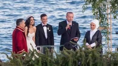 Photo of بالصور: حضور الرئيس التركي حفل زفاف اللاعب الألماني مسعود أوزيل