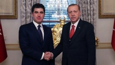 Photo of بارزاني يزور أنقرة اليوم ويلتقي أردوغان
