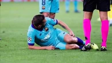 Photo of برشلونة يصدر بياناً بشأن اصابه مدافعه
