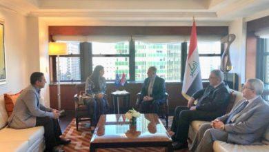 Photo of وزير الخارجيّة يلتقي الدكتورة رولا دشتي الأمينة التنفيذية للجنة الاقتصاديّة والاجتماعيّة لغربيّ آسيا (الأسكوا)