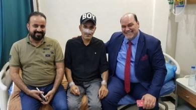 Photo of شاعر عراقي يدخل المستشفى بشكل عاجل