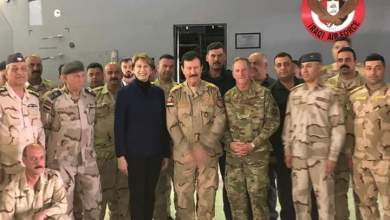 Photo of قيادة القوة الجوية تستقبل وزيرة القوات الجوية الامريكية و الوفد المرافق لها
