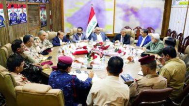 Photo of عبد المهدي يعقد اجتماعا بحضور رئيسي مجلس القضاء الأعلى ومجلس النواب والقادة الأمنيين