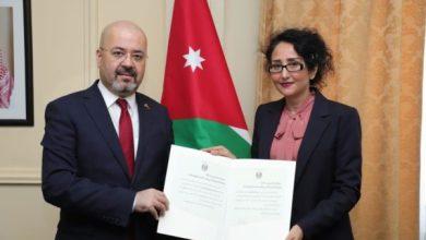 Photo of السفير حيدر العذاري يقدم نسخة من أوراق إعتماده لوزارة الخارجية الأردنية