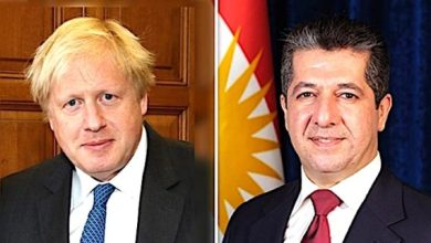 Photo of رئيس وزراء إقليم كوردستان يهنئ بوريس جونسون بفوز حزبه في الانتخابات
