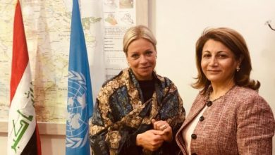 Photo of النائبة الاء طالباني تلتقي السيدة ممثلة الامم المتحدة في بغداد