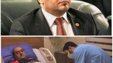 Photo of الكعبي يهاتف اللاعب الدولي السابق باسل كوركيس للاطمئنان على صحته