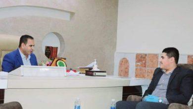 Photo of رئيس الاتحاد العربي للإعلام الإلكتروني/ بابل يلتقي المحافظ  الدكتور حسن منديل السرياوي