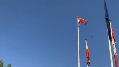 Photo of أعلام المثليين ترفرف في بغداد
