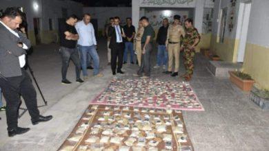 Photo of قائد شرطة ذي قار يكشف عن ضبط كمية كبيرة من الاقراص المخدر