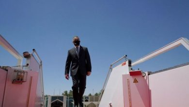 Photo of رئيس الوزراء مصطفى الكاظمي يصل إلى واشنطن
