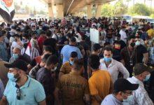 Photo of بالفيديو.. خريجو الهندسة ينظمون مسيرة وسط بغداد للمطالبة بالوظائف