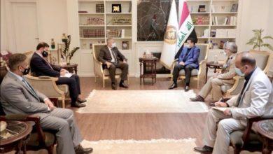 Photo of مستشار الأمن الوطني السيد قاسم الأعرجي يستقبل السفير الأردني في بغداد