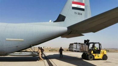 Photo of انطلاق طائرة إغاثة عراقية ثانية إلى الخرطوم