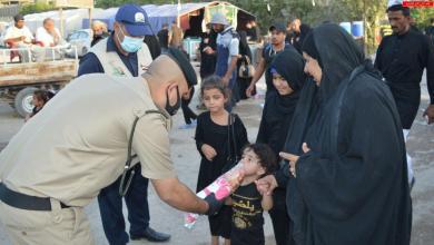 Photo of على هامش الزيارة الأربعينية.. الشرطة المجتمعية تقيم مرسما لصغار الزائرين