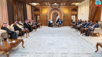 Photo of رئيس مجلس النواب يستقبل أعضاء المجلس التنسيقي العراقي السعودي