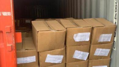 Photo of المنافذ الحدودية تعلن عن ضبط حاويتين تحتويان على مواد يمنع استيرادها في منفذ ميناء أم قصر الأوسط