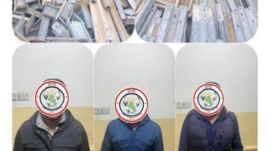 Photo of ضبط ثلاث شاحنات والقاء القبض على سائقيها محملة بمادة الحديد الواقي لطرق السريع في كركوك