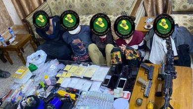 Photo of الاستخبارات العسكرية تلقي القبض على عصابة تتاجر بالمخدرات والاسلحة جنوب شرق بغداد