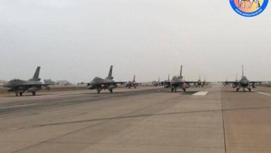 Photo of بالفيديو |  إستعدادات القوة الجوية العراقية للاستعراض المعد في عيد الجيش .. استعراض وتدريب جوي في سماء بغداد