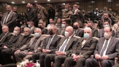 Photo of رئيس مجلس القضاء الاعلى يحضر حفل تأبين الشهداء قادة النصر