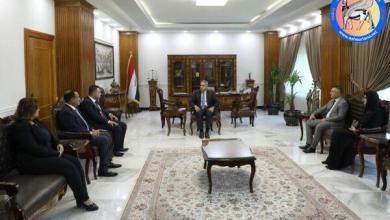 Photo of رئيس مجلس القضاء الاعلى يستقبل رئيس واعضاء لجنة مراقبة تنفيذ البرنامج الحكومي