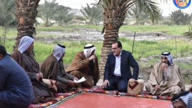 Photo of رئيس كتلة دولة القانون النيابية يزور مضيف الشيخ عامر ال عيدان الاعاجيبي